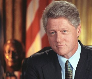 Governor Bill Clinton was President from 1993-2001.