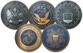 The United States Military is composed of 5 Military Branches