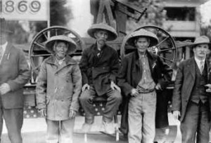 railroad asian workers